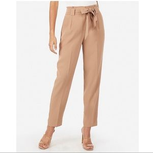 Paperbag Ankle Pants from Express